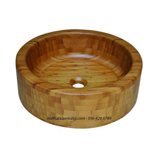 Lavabo gỗ tre LWB41