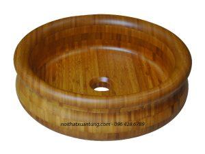 Lavabo gỗ tre LWB51