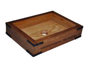 Lavabo gỗ tre LWB81