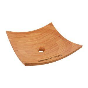 Lavabo gỗ tre LWB31