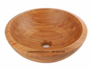 Lavabo gỗ tre LWB11