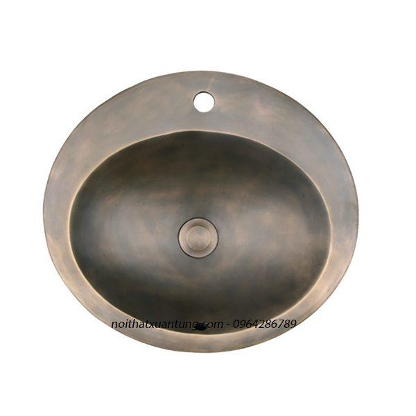 Lavabo bằng đồng LCA08