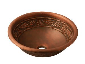 Lavabo rửa bằng đồng LCA304