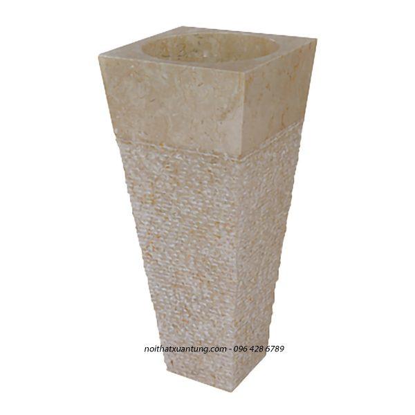 Lavabo cây đá tự nhiên LST08