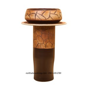 Lavabo sứ cây LPT054
